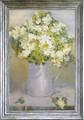 アンドレ ア ダーン アートフレーム【特殊ゲル加工アート】フラワー/花柄<樹脂フレーム>