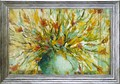 ワニ  パシオン アートフレーム【特殊ゲル加工アート】フラワー/花柄<樹脂フレーム>