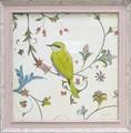エミリー アダムス アートフレーム【アニマルアート】鳥/アンティーク<樹脂フレーム>