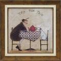 サム トフト アートフレーム【動物&癒しアート】イギリス女性作家<樹脂フレーム>