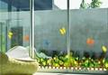 大きめサイズ 【蝶とお庭】ウォールステッカー/花/自然