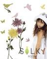 【レトロフラワー】ウォールステッカー/自然/花/植物/たんぽぽ/菊/和風
