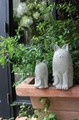 【インテリア・オブジェ】大好きアニマル!<人気の猫のモチーフでお庭の演出を>シャトン+ねこ