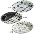 ■美濃焼単品■和織 カレー皿 3種(丸紋・四角紋・水輪)