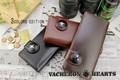 SALE!!VH-501 VACHRON HEARTS ブラッククロスコンチョ付 ウォレット 3COLOR