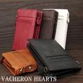 ★VH-3000★ヴァセロンハーツ 全面にカードスライドポケット付牛革製短財布