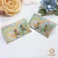 【Notle】Petit Flowerシリーズ-ふんわりフラワーラインノンホールピアス-