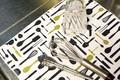 キッチン周りを清潔に保つキッチンマット☆【マイクロファイバードライニングマット】4種チョイス♪