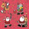 Daisy  ペーパーナプキン クリスマス <サンタ・トナカイ・プレゼント>