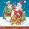 Daisy  ペーパーナプキン クリスマス <サンタ・スノーマン>