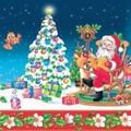 Daisy  ペーパーナプキン クリスマス <サンタ×ツリー>