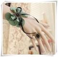 アンティーク風蝶々リボンのリング&ブレス L0029