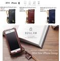 【iPhone6対応】BZGLAMウェアラブルレザーカバー