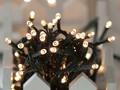 【2017クリスマス先行受注】LEDライトチェーンICコントローラー付き 96球 ウォームホワイト