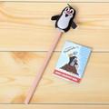 【クルテク】ソフトマスコット付き鉛筆