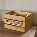 【木製品】すきまがアクセントの木箱