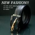 【30%OFF】【ファッション】オートロック 本革 メンズ ベルト (幅3.5cm その3)【本革 メンズ ベルト】