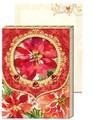 Punch Studio ポケットノートパッド <フラワー> クリスマス