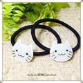 ○白猫シリーズ スマイルネコポニー ○