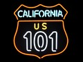 """お部屋やショップをアメリカンに♪【ネオンサイン""""CALIFORNIA 101""""】カリフォルニア101"""