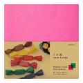 【小物やお菓子を包んだり】うす紙<15角> ピンク・緑
