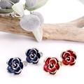【均一SALE】薔薇のワンカラーイヤリング【2色】