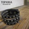 【まとめ買い特価】TOPANGA Accessories 3連スタッズブレスレット