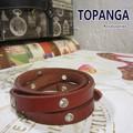【まとめ買い特価】TOPANGA Accessories クリスタルラップブレスレット