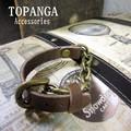 【まとめ買い特価】TOPANGA Accessories ベルトレザーブレスレット