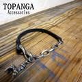TOPANGA Accessories レザーチャームブレスレット