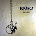 【まとめ買い特価】TOPANGA Accessories トナカイルーペネックレス