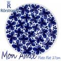 RORSTRANDロールストランド Mon Amie(モナミ) フラットプレート皿 Plate Flat 27cm【北欧雑貨】