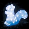 抜群の存在感と輝き!LEDクリスタルモチーフ リス(中)<クリスマス・イルミネーション>