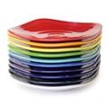 【10色展開】スクエアプレート<ベストセラー食器 アメリカ生まれ Fiesta>[フィエスタ/陶器/カラフル]