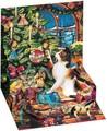 UP WITH PAPER トリンケットカード 立体仕様 クリスマス <猫×ツリー>