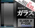 <液晶保護シール>ELUGA X P-02E(エルーガ)用液晶保護ガラスフィルム