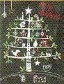 MADISON PARK GREETINGS クリスマスカード <ツリー×アニマル>