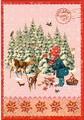 ROGER LA BORDE クリスマスカード<子供×動物>