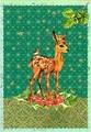 ROGER LA BORDE クリスマスカード<バンビ>