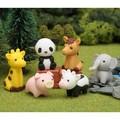 【イワコーおもしろ消しゴム】『どうぶつえん』<6種> ☆日本製☆ パンダ誕生で話題です♪