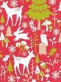 THE GIFT WRAP COMPANY ジャンボラッピングペーパー クリスマス <アニマル> 包装紙