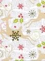 THE GIFT WRAP COMPANY ジャンボラッピングペーパー クリスマス <トナカイ> 包装紙