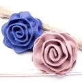 【均一SALE】ワンカラーの薔薇フェルトブローチ【2色】
