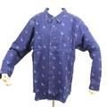 藍染めシャツ