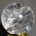 【30%OFF】【天然石 インテリア】天然レインボー水晶置玉φ55mm♪台座付き【天然石 レインボー水晶】