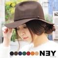 【SALE】◆[ウール100%]中折れツバ広フェルトハット/帽子/雑貨/小物◆419536