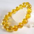 【30%OFF】【天然石ブレスレット】ゴールドオーラ水晶(12mm)ブレス【天然石 オーラ水晶】