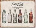 ブリキ看板 COKE Bottles #58274