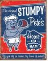 ブリキ看板 Stumpy Ham #58341