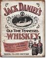ブリキ看板 Jack Daniel's White #58284